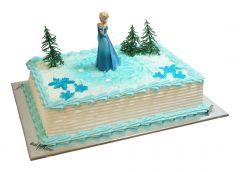 Children's Birthday Cake Ice Princess