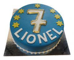 Children's birthday cake Star