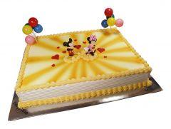 Kindergeburtstagstorte Mickey + Minnie