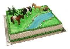 Kindergeburtstagstorte Pferde
