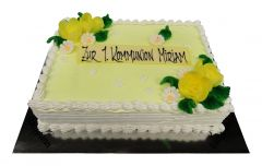 Communion Cake Greetings
