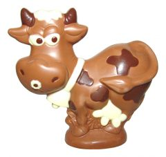 Kuh aus Schokolade