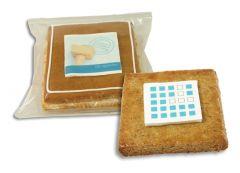 Lebkuchen Quadrat 8 x 8 cm