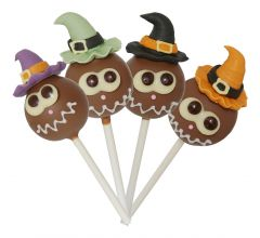 Lollipop Halloween milch
