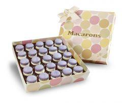 Macaron Rhabarber-Erdbeer