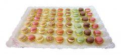 Macarons Silberkarton
