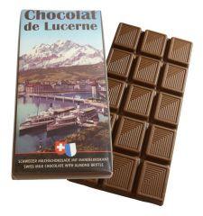 Milchschokolade Mandelkrokant 100g