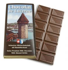 Milchschokolade Mandelkrokant 30g