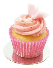 Mini Cupcake Erdbeer