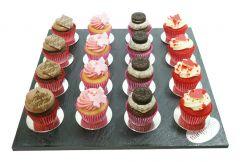 Mini Cupcakes Platte 16er