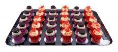 Mini Cupcakes Platte 30er