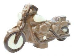 Motorrad aus Schokolade