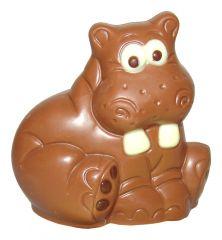 Nilpferd aus Schokolade