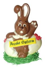 Osterhase Lucky Frohe Ostern klein