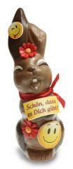 Osterhase Schokolade Smile