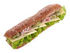 Paillasse Sandwich Greyerzer Käse