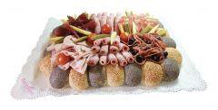 Party Brot Mohn-Sesam Fleisch