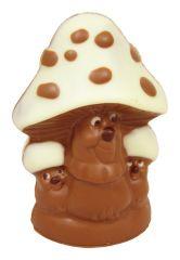 Pilz aus Schokolade