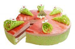 Rhabarber-Vanille Torte