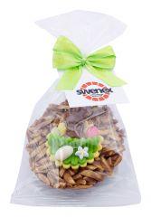 Osternest Rocher Schokolade mit Logo