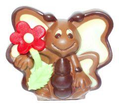 Schmetterling aus Schokolade