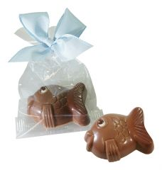 Fisch aus Schokolade 1er