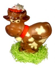 Schokoladen Kuh Helga