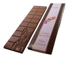 Schokoladen Tafel Milchschokolade Caramel