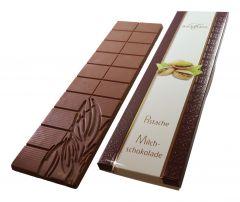 Schokoladen Tafel Milchschokolade Pistazien