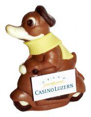 Schokoladen Vespa Ente mit Logo