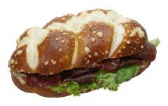 Silser Zöpfli Bündnerfleisch Sandwich