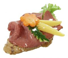 Bruschetta Smoked Beef
