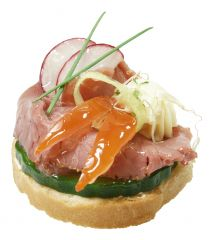 Canapé Smoked Beef
