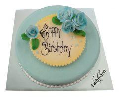 Cake Azur blue