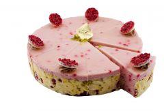 Himbeer-Quarkmousse Torte