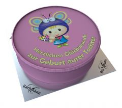 Shipping Cake Childbirth Daughter Fairy