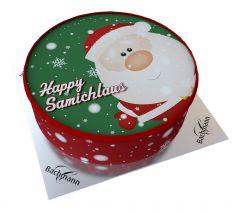 Shipping Cake Happy Santa