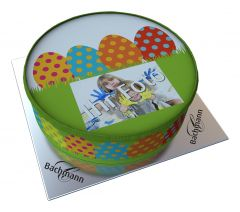 Shipping Cake Your Photo Easter Egg