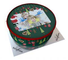 Shipping Cake Your Photo Santa