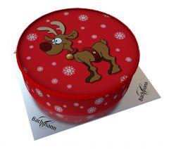 Shipping Cake Rudy Reindeer
