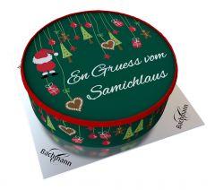 Shipping Cake Santa