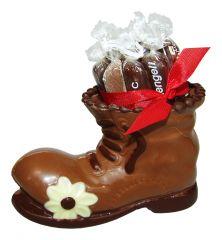 Wanderschuh aus Schokolade