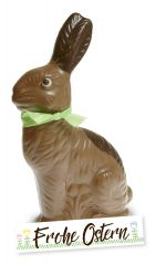 Sitzhase Milchschokolade 17cm