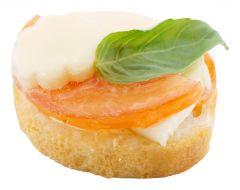 Canape Tomaten-Mozzarella