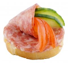 Canape Salami