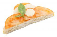 Canapé diagonal Tomaten-Mozzarella