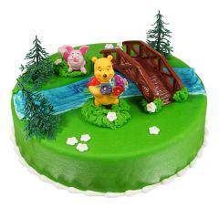 Children's birthday cake Winnie Pooh